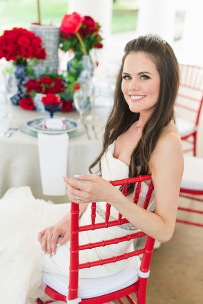 Elegant Red White And Blue Wedding At Stately Arlington Hall At Lee Park | Photograph by Jennifer Crenshaw Photography  See The Full Story at http://storyboardwedding.com/red-white-and-blue-wedding-arlington-hall-at-lee-park/