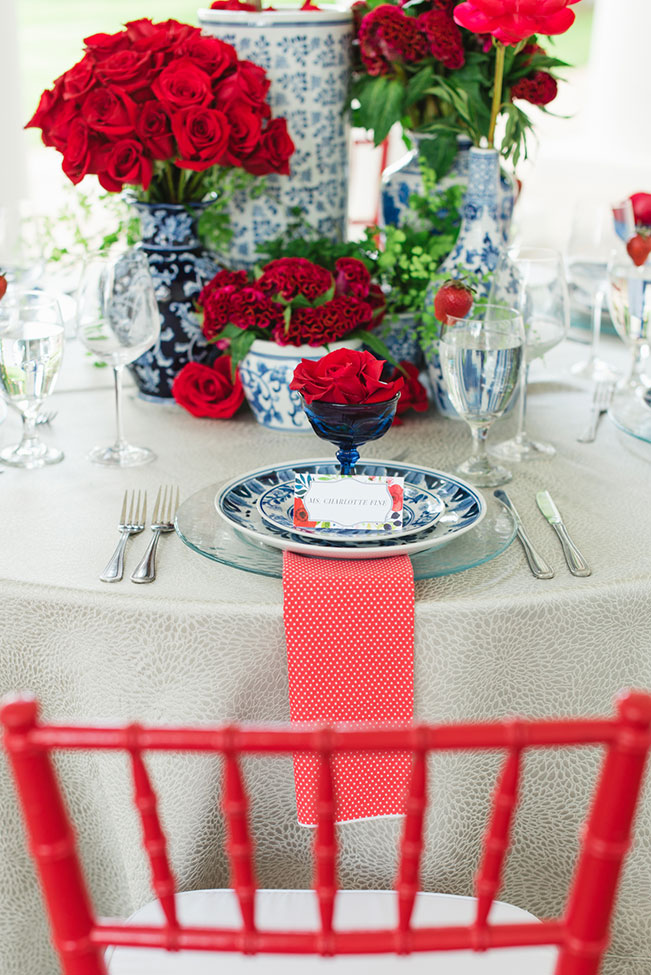 Elegant Red White And Blue Wedding At Stately Arlington Hall At Lee Park | Photograph by Jennifer Crenshaw Photography  See The Full Story at https://storyboardwedding.com/red-white-and-blue-wedding-arlington-hall-at-lee-park/