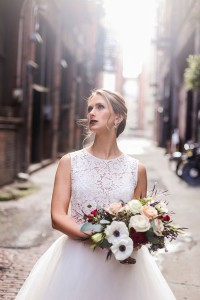 Romantic Industrial Loft Wedding At Seattle's Axis Pioneer Square