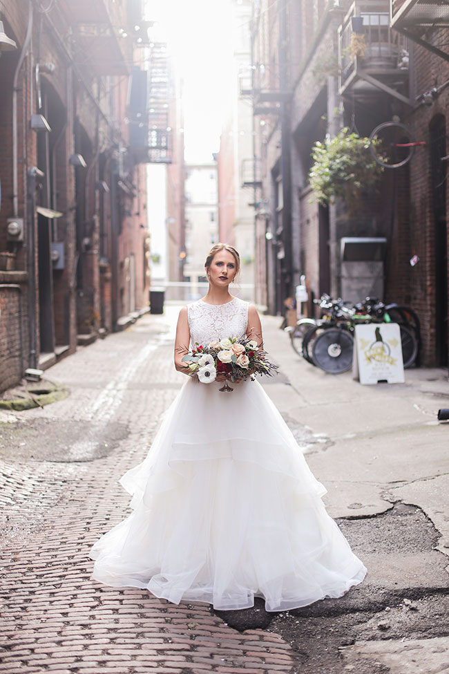 Romantic Industrial Loft Wedding At Seattle