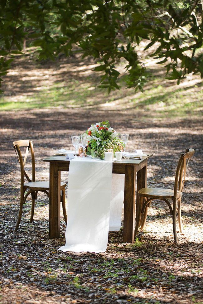 Romantic Woodland Wedding At Ranch At Little Hills Featuring Vintage Decor | Photograph by Christine Glebov Photography  See The Full Story at https://storyboardwedding.com/romantic-woodland-wedding-ranch-at-little-hills/