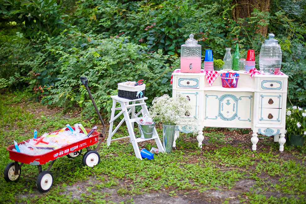 Isola Farms Florida Red White And Blue Wedding   Photograph by Wings of Glory Photography