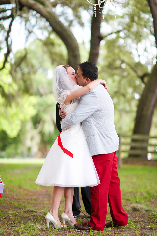 Isola Farms Florida Red White And Blue Wedding | Photograph by Wings of Glory Photography