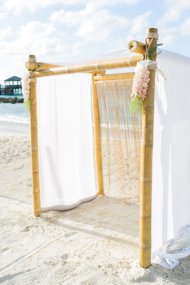 Destination Weddings Simplified Thanks To Sandals WeddingMoons | Photograph by Alexis June Weddings