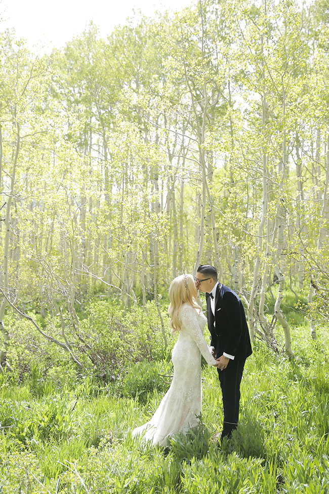 Dreamy Romantic Tented Wedding At St. Regis Deer Valley | Photograph by Pepper Nix Photography  See The Full Story at https://storyboardwedding.com/dreamy-romantic-tent-wedding-at-st-regis-deer-valley/