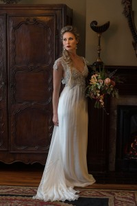 Elegantly Moody Classic Vintage Bridals At Biltmore Village Inn