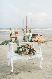 Organic Chic Galveston Texas Beach Wedding