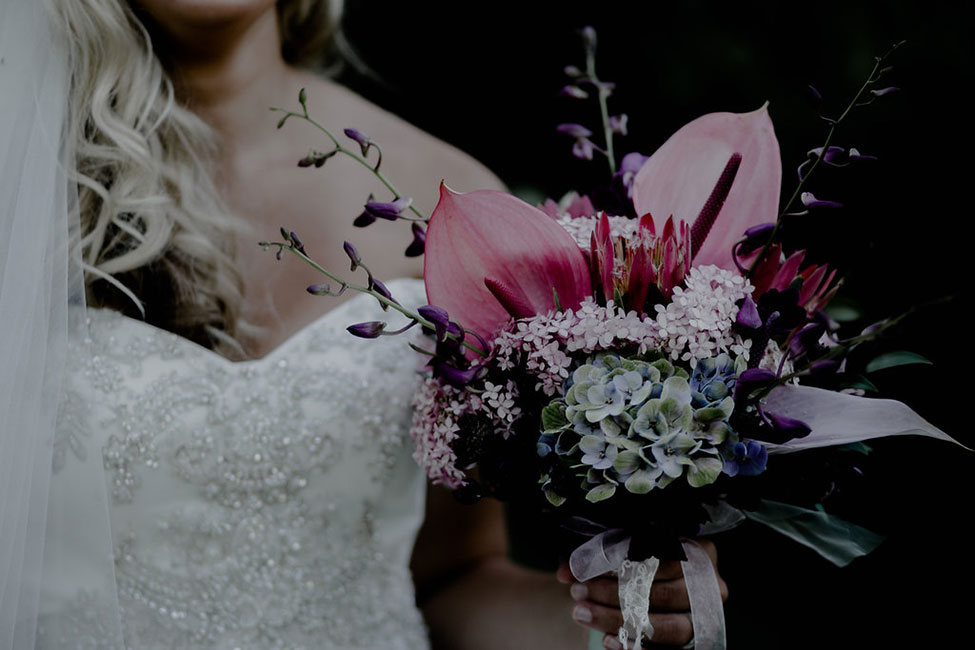 Fairy Tale Inspired Moody Bridal Style At Flora Flowershop | Photograph by Magdalene Photography  See The Full Story at