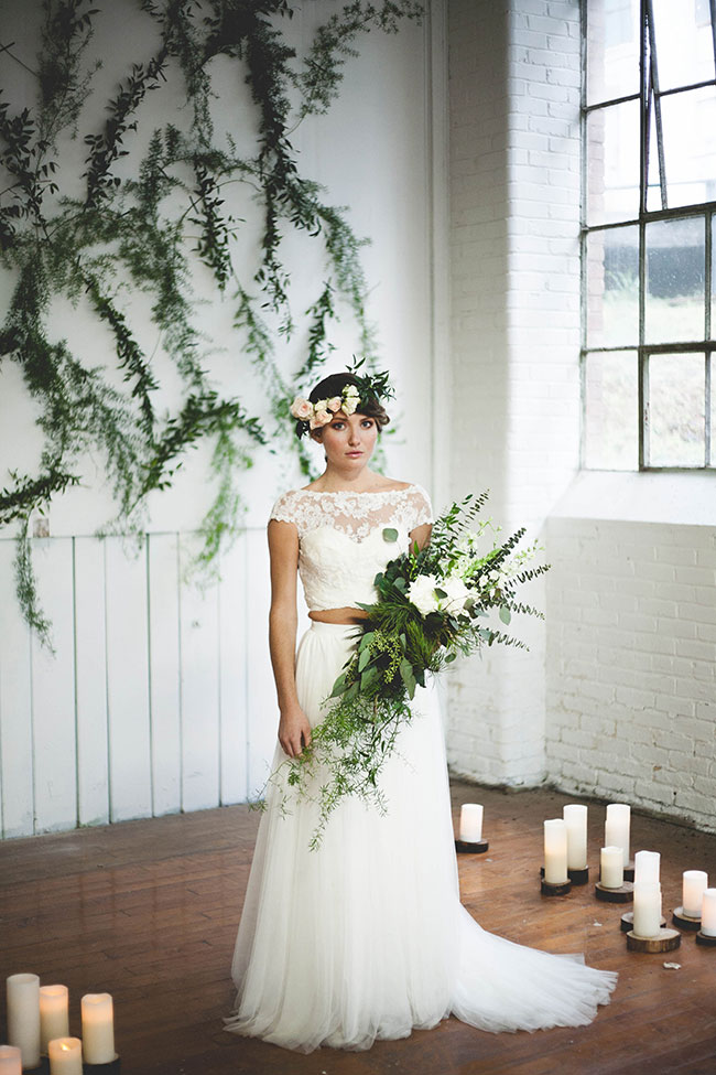 Organic Chic Romantic Industrial Wedding In South Carolina | Photograph by Anna Duncan Photography  See The Full Story at http://storyboardwedding.com/organic-romantic-industrial-wedding-south-carolina/