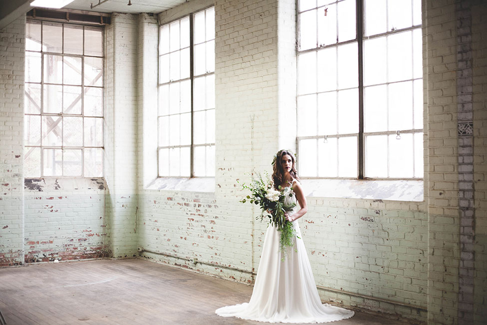 Organic Chic Romantic Industrial Wedding In South Carolina | Photograph by Anna Duncan Photography  See The Full Story at https://storyboardwedding.com/organic-romantic-industrial-wedding-south-carolina/