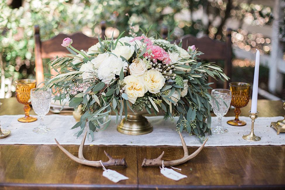 Peach Hued Boho Botantical Wedding At Camarillo Ranch | Photograph by Christy McCarter Photography See The Full Story at https://storyboardwedding.com/boho-botantical-wedding-camarillo-ranch
