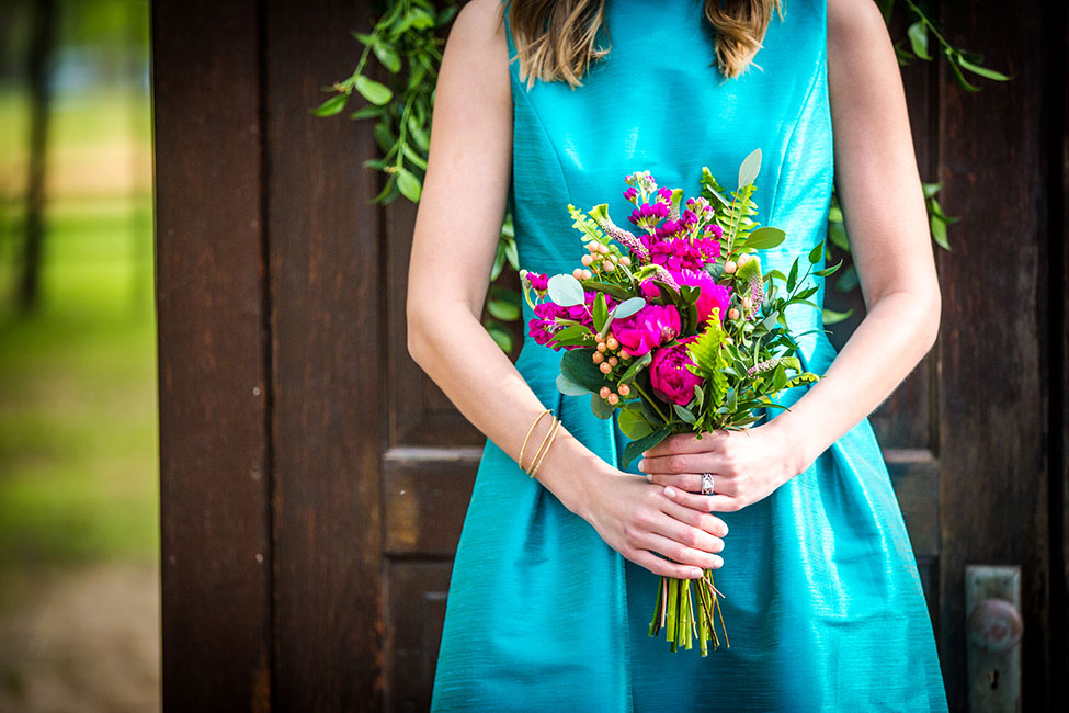 Vibrant Jewel Tone Equestrian Wedding At Chapel In The Woods | Photograph by Photographer:  Red Bridge Photography  See The Full Story at https://storyboardwedding.com/jewel-tone-equestrian-wedding-chapel-in-the-woods/