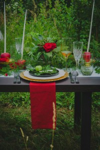 Vibrantly Moody Apple Orchard Wedding