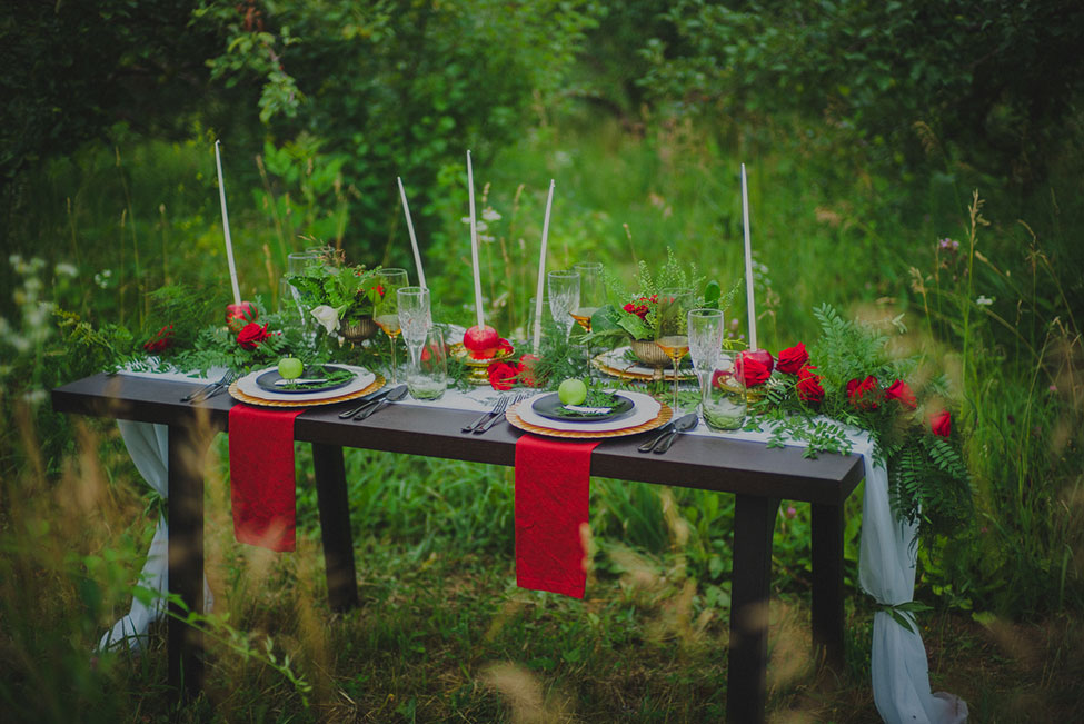 Vibrantly Moody Apple Orchard Wedding | Photograph by Trahms Photography  See The Full Story at http://storyboardwedding.com/moody-apple-orchard-wedding/