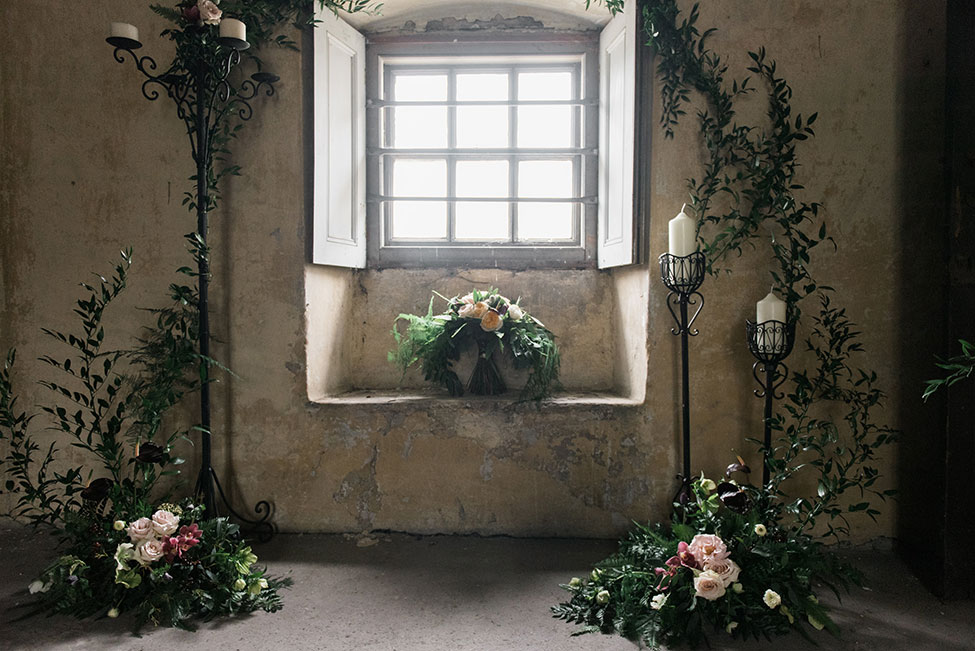 Gorgeously Chic Gothic Wedding At Cusworth Hall | Photograph by Folega Photography  See The Full Story at http://storyboardwedding.com/chic-gothic-wedding-cusworth-hall/