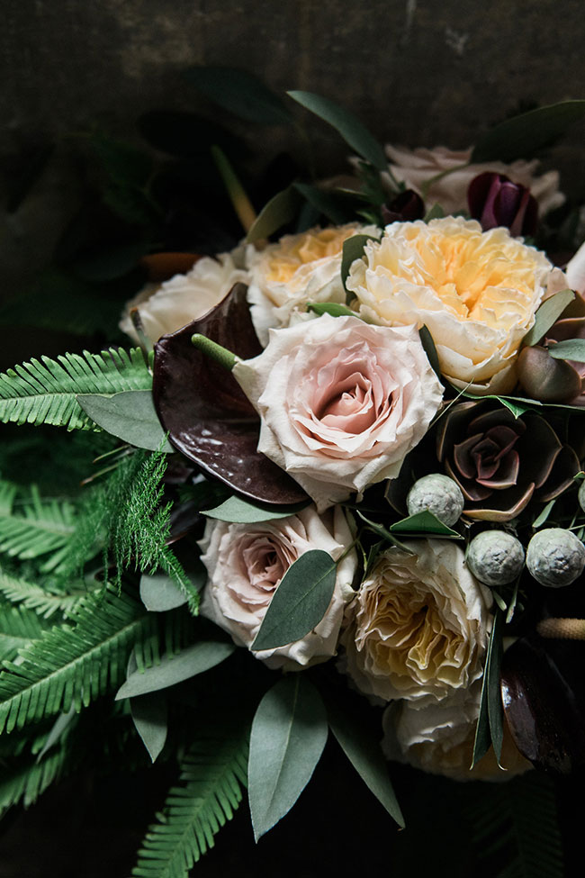 Gorgeously Chic Gothic Wedding At Cusworth Hall | Photograph by Folega Photography  See The Full Story at https://storyboardwedding.com/chic-gothic-wedding-cusworth-hall/