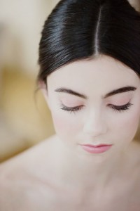 Rose Quartz Kissed Minimalist Bride Hair & Makeup Tutorial