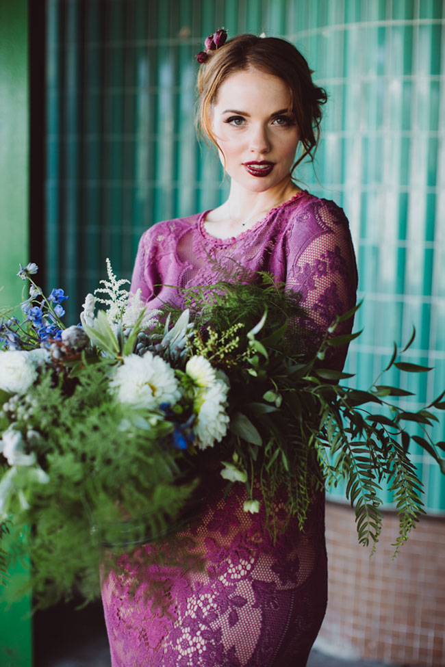Bombshell Boho Glam Wedding At Velaslavasay Panorama | Photograph by Amber Gress Photography