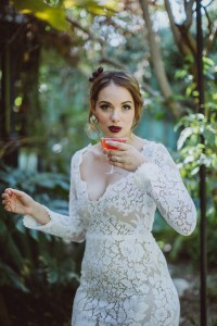 Bombshell Boho Glam Wedding At Velaslavasay Panorama