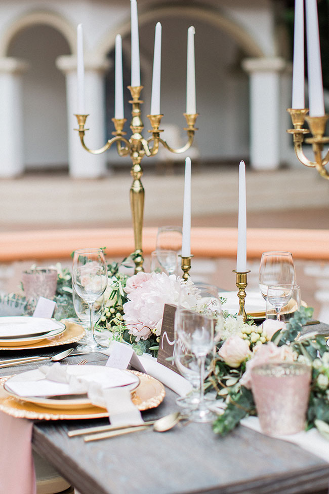 Effortlessly Elegant Wedding With Undone Touches At Rancho Las Lomas | Photograph by Halleigh Hill Photography  See The Full Feature at http://storyboardwedding.com/elegant-wedding-rancho-las-lomas/