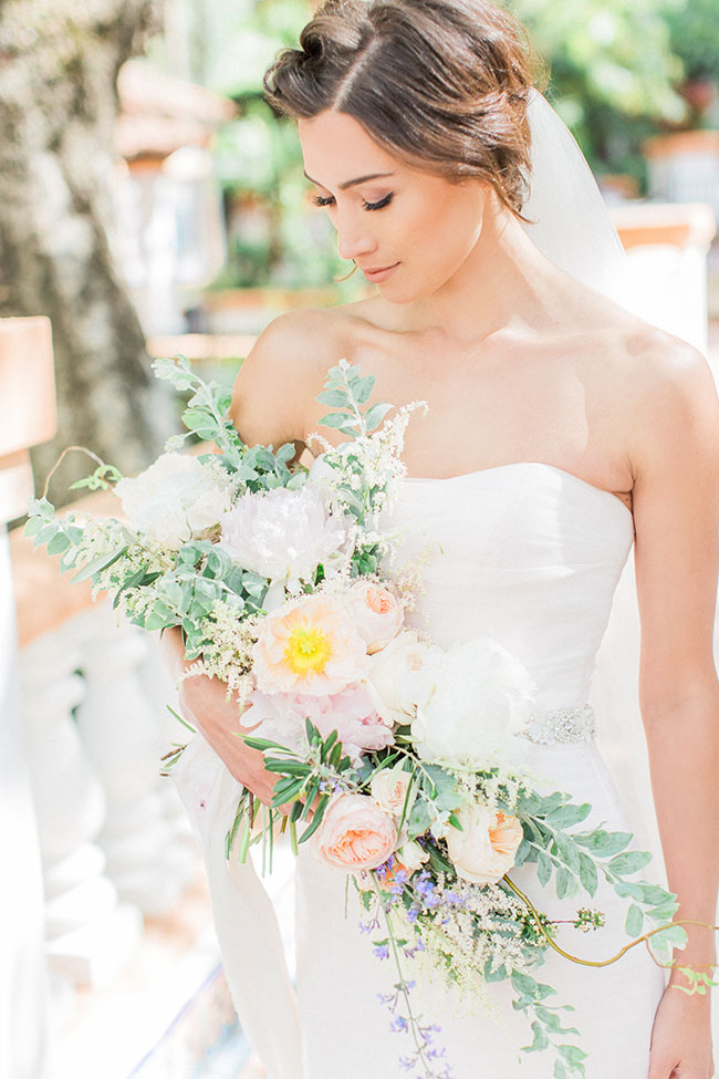 Effortlessly Elegant Wedding With Undone Touches At Rancho Las Lomas | Photograph by Halleigh Hill Photography  See The Full Feature at https://storyboardwedding.com/elegant-wedding-rancho-las-lomas/