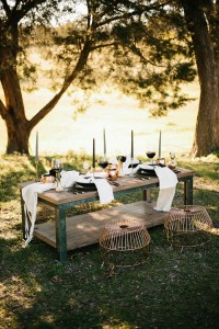 Rustic Elegant Kinfolk Wedding Among The Trees