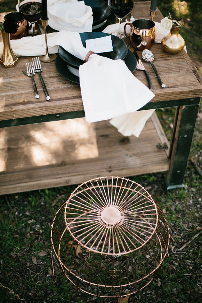 Rustic Elegant Kinfolk Wedding Among The Trees | Photograph by Rachel Meagan Photography  See The Full Story at http://storyboardwedding.com/rustic-elegant-kinfolk-wedding/