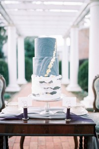 Cool Tone Romantic Gray Gothic Wedding At Thornrose House