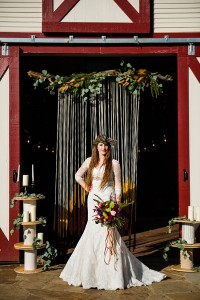 Rustic Chic Fall Wedding With A Bohemian Spirit