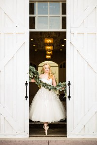 Prima Ballerina Wedding At The White Sparrow Barn