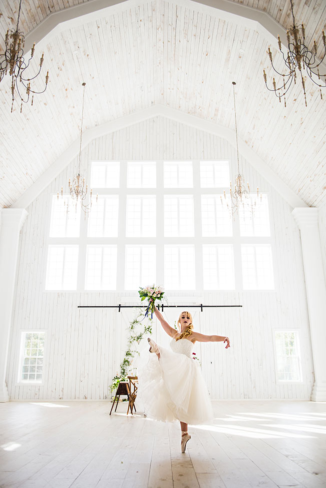 Prima Ballerina Wedding At The White Sparrow Barn | Photograph by Photo La Vie  See The Full Story at http://storyboardwedding.com/prima-ballerina-wedding-white-sparrow-barn