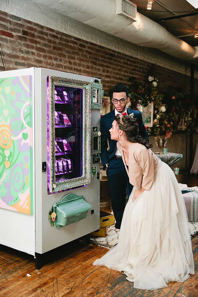 Art School Cool Urban Hipster Wedding | Photograph by Sasithon Photography  See The Full Story at https://storyboardwedding.com/art-school-urban-hipster-wedding