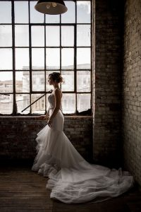 Romantic Industrial Wedding In Rustbelt Coffee Loft