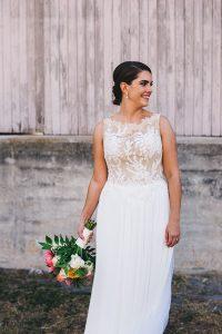 Vibrant Winter Park Farmers' Market Florida Wedding
