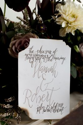 Whimsical Treats In This Moody Harry Potter Wedding | Photograph by Diana Bello Studio  See The Full Story at http://storyboardwedding.com/whimsical-harry-potter-wedding