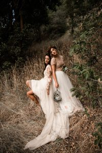 Dreamy Woodland Enchanted Bridesmaid Session