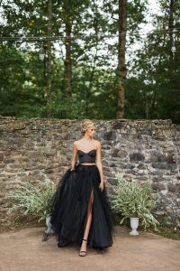 Hauntingly Perfect Gothic Chic Wedding Goddess