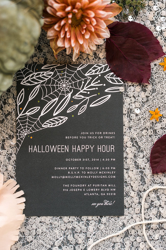 Harvest Style Halloween Dinner Party | Photograph by Rustic White Photography See the full feature at http://storyboardwedding.com/halloween-dinner-party/