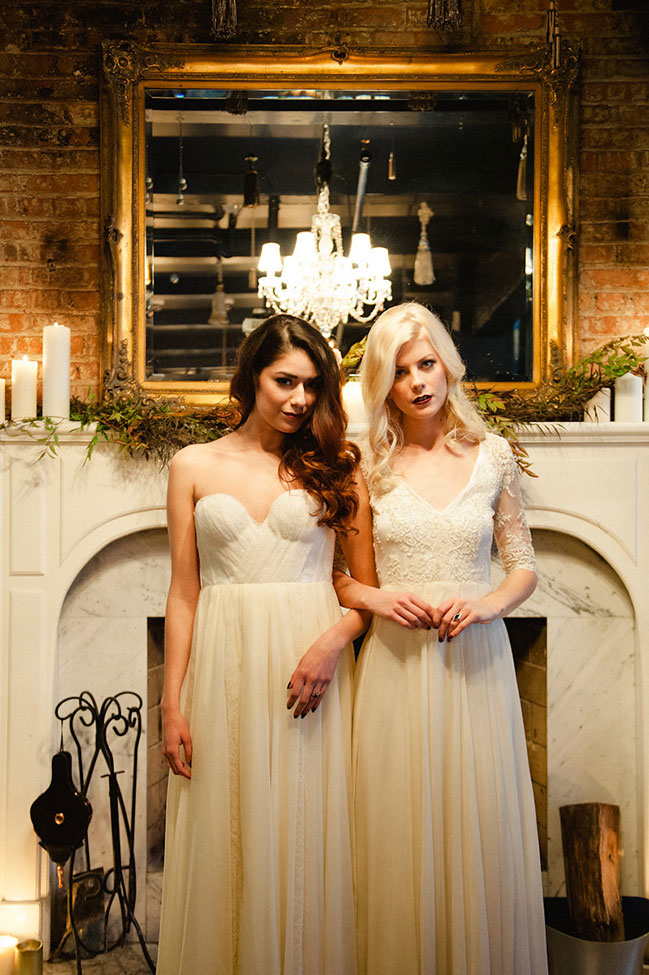A Hauntingly Moody Wedding | Photograph by Roots of Life Photography  See the full story at https://storyboardwedding.com/hauntingly-moody-wedding/