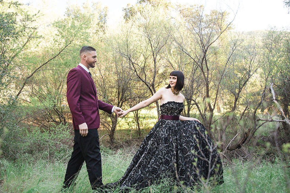 Huntsman Inspired Fantasy Woodland Wedding | Photograph by Victoria Johansson Photography  See the full story at http://storyboardwedding.com/huntsman-fantasy-woodland-wedding