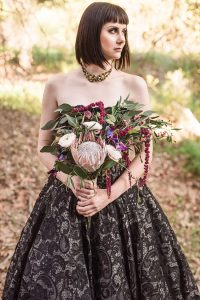 Huntsman Inspired Fantasy Woodland Wedding