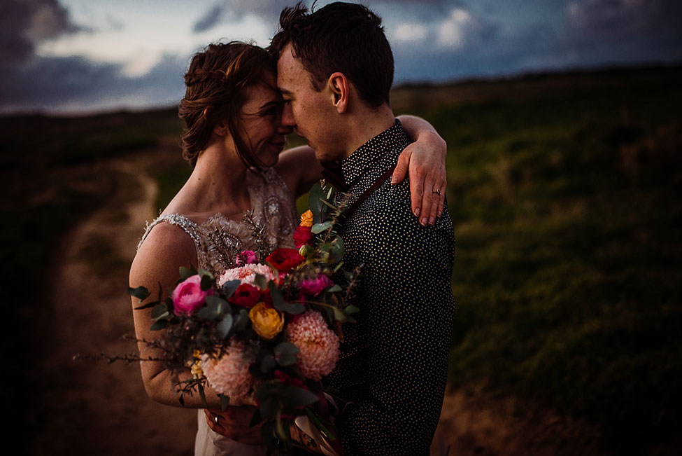 Exceptionally Gorgeous Moody Australian Elopement | Photograph by Ine Ertvaag Photography  See the full post at http://storyboardwedding.com/moody-australian-elopement/