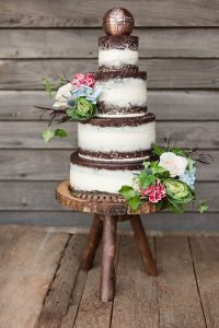 North Carolina's Flyway Lodge Rustic Wedding