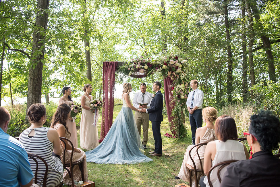 Tea Party In The Woods Wonderland Wedding | Photograph by  Sabrina Hall Photography   See the full story at https://storyboardwedding.com/tea-party-wonderland-wedding/