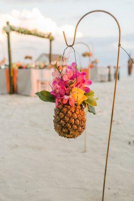 Sandals-South-Coast-Aisle-to-Isle-Beach-Reception-Flowers
