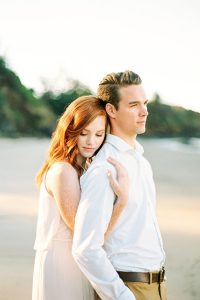 Dreamy Oregon Coast Engagement Shot On Film