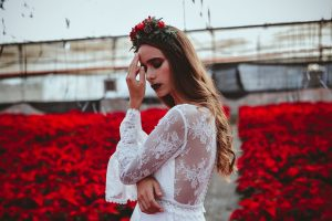 Poinsettia Farm Red Essence Spanish Wedding Eclectic Detailing