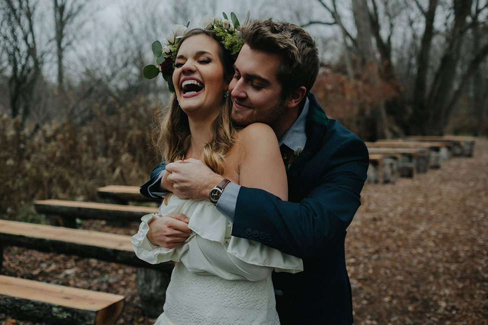 Rustic Winter Harvest Wedding With A Boho Spirit | Photograph by Copper + Sage Collective  See the full story at http://storyboardwedding.com/rustic-winter-harvest-wedding-boho-spirit/