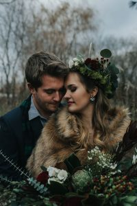 Rustic Winter Harvest Wedding With A Boho Spirit