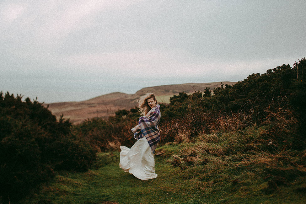 North Wales Great Orme Stormy Wintry UK Wedding | Photograph by Avonné Photography  See the full story at http://storyboardwedding.com/north-wales-great-orme-wintry-uk-wedding